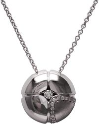 LO COCO AND KUBPART - Lilac Large Pendant White Gold - Lyst