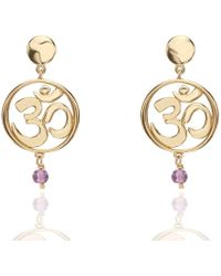 Nicofilimon - Om Earrings - Lyst