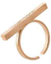 Lumitoro - Stickii Ring I Raw Bronze - Lyst