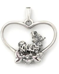 Donna Pizarro Designs - Sterling Silver Long Haired Chihuahua Pendant - Lyst