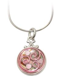 AVA Goldworks - Lily Abalone Pendant - Lyst