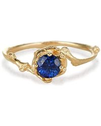 Olivia Ewing Jewelry - Sapphire Naples Ring - Lyst