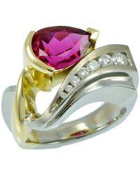 Alex Gulko Custom Jewelry - Pink Tourmaline Ring - Lyst