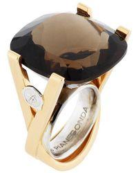 Franco Piane Designed By Franco Pianegonda - Luminosity Yellow Gold Ring - Lyst