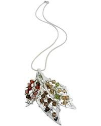 Rachel Helen Designs - Sterling Silver Four Seasons Pendant - Lyst