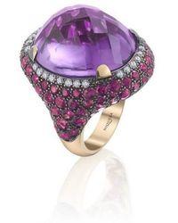 Niquesa Fine Jewellery - Venice Moretta Amethyst Ring - Lyst