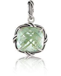 Peter Thomas Roth Fine Jewelry - Fantasies Prasiolite Enhancer Sterling Silver - Lyst