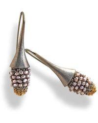 Tove Rygg - Shining Goddess Swan Earrings - Lyst