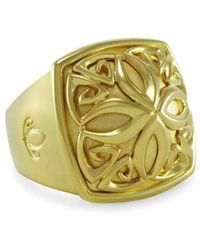 REALM - Empress Insignia Luxe Ring - Lyst