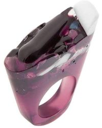 Pasionae - Murano Ring - Love - Lyst