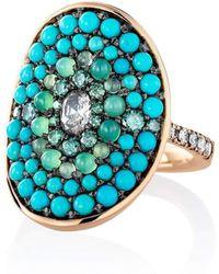 Joke Quick - Turquoise Ring - Lyst