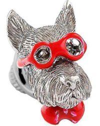 Tateossian - Silver Scottish Terrier Pin - Lyst