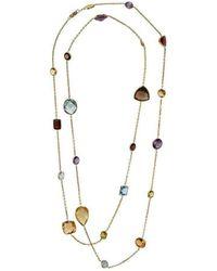 BCOUTURE - Large Multi Colour Long Necklace - Lyst