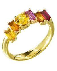 Daou Jewellery - Golden Light Ring - Lyst
