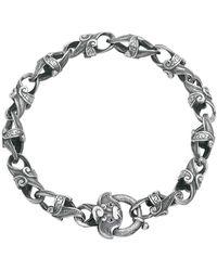 Suciyan - Dragon Knot Ruby Sterling Silver Bracelet - Lyst