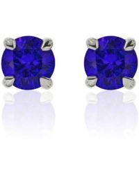 Flawless Jewellery - Aphrodite Earrings - Blue Sapphire - Lyst
