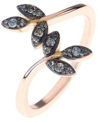 Latelita London Possum Ring Rose Gold White Zircon - UK P - US 7 1/2 - EU 56 1/2 E05e8f4JNL
