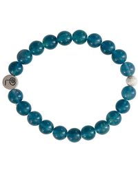 Lucy and Penny - Healing Green Fluorite Bangle - Lyst