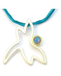 Karin Bauermeister- Bijoux Individuels - Dragon-fly Lucky Charm Pendant - Lyst