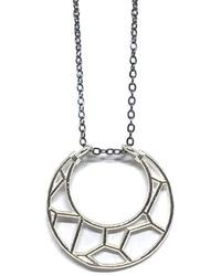 Dream of Songs - Crescent Moon Necklace - Lyst