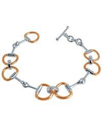 Pegasus Jewellery | Rose Snaffle Bracelet | Lyst