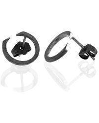 Ilda Design - Circling Oxidised Earrings - Lyst