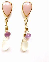 Radha - Parisian Evenings Earrings - Lyst