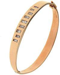 Botta Gioielli - Rigid Diamonds Code Bracelet - Lyst