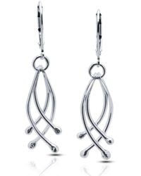 Designs by JAK - Serenity Curved Earrings - Lyst