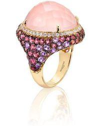 Niquesa Fine Jewellery - Venice Moretta Pink Quartz Ring - Lyst