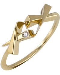 Daou Jewellery - Kisses Diamond Ring - Lyst