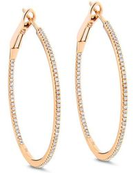 Cosanuova - In And Out Hoops - Lyst