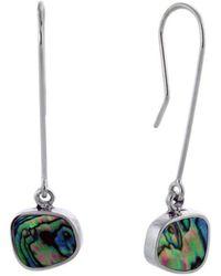Jan D - Long Earrings With Abalone - Lyst