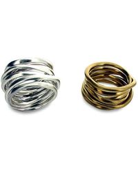 Will Bishop - Sterling Silver Coiled Ring - Lyst