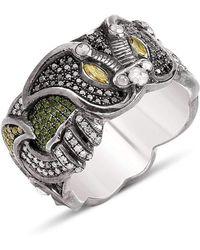 Suciyan - Dragon Knot Multi Diamond Ring - Lyst