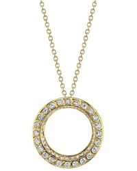 Harry Kotlar - Kotlar 1948 Scallop Artisan Pave Yellow Gold - Lyst
