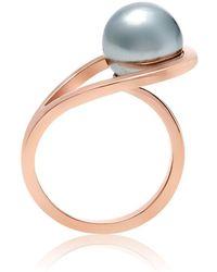 Neola - Aurea Rose Gold Ring - Lyst