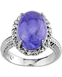 QP Jewellers - Tanzanite Ring In Sterling Silver - Lyst