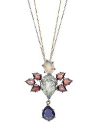 Nicofilimon - Stone Wings Necklace - Lyst