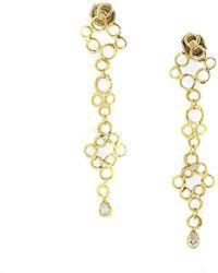 Erin Cox Jewellery - Bubble Drop Earrings - Lyst