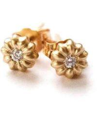 Lulu and Shay Fine Jewelry - Blossom Diamond Stud - Lyst