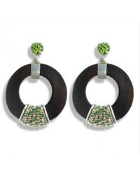Hissia - Green Luz Earrings - Lyst