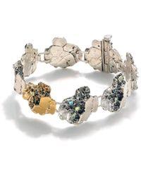 Lainey Papageorge Designs - Sand Dollar Fragment Bracelet - Lyst