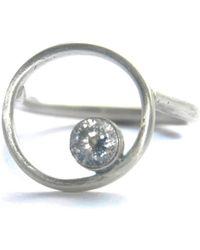 Rebecca Pratt Jewellery - Cubic Zirconia Ring - Lyst