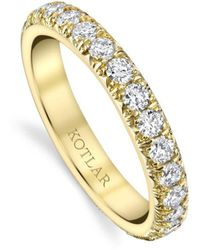Harry Kotlar - French Cut Artisan Pave Band - Lyst