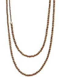 Faystone - Sun Necklace - Lyst