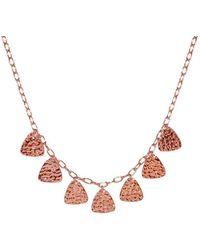 Murkani Jewellery - Rose Gold Necklace | - Lyst