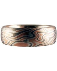 RING Jewellers - Precious Wood Grain Ring - Lyst