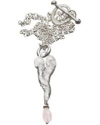 Kate Chell Jewellery - Melted Heart Necklace - Lyst