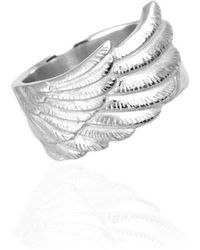 Jana Reinhardt Jewellery - Sterling Silver Wing Ring - Lyst